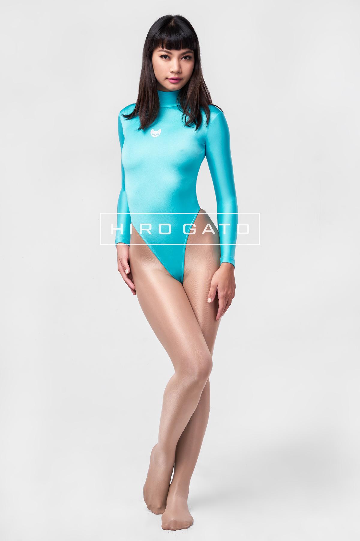 Spandex Leotard turquoise