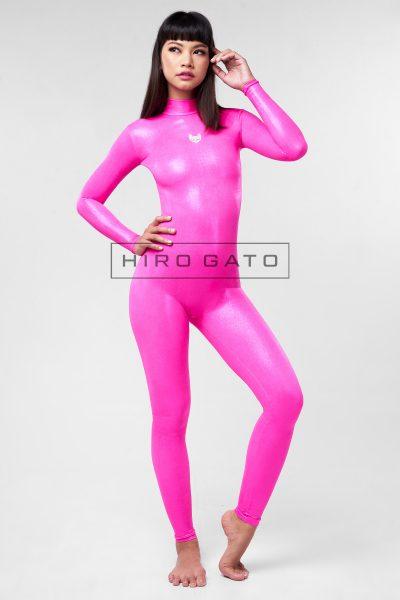 Mystique Spandex Catsuit Pink
