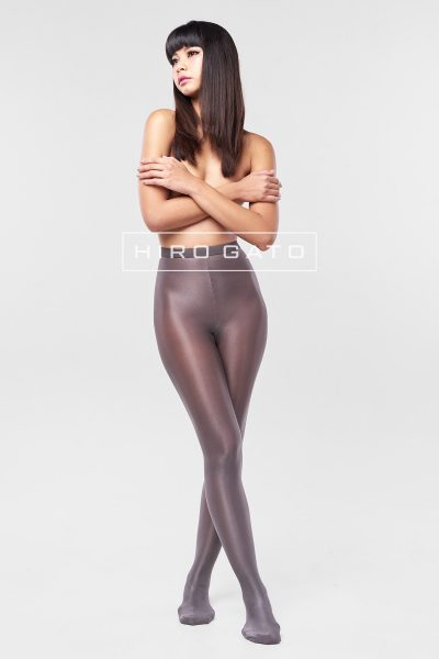 Shiny Pantyhose Gray