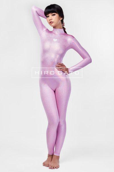 Spandex Catsuit Bonbon Pink