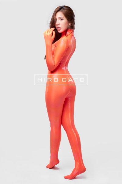 Mystique Spandex Catsuit Orange