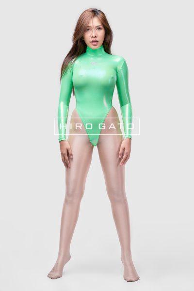 Mystique Spandex Leotard Green