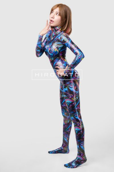 Psychedelic Pattern Catsuit